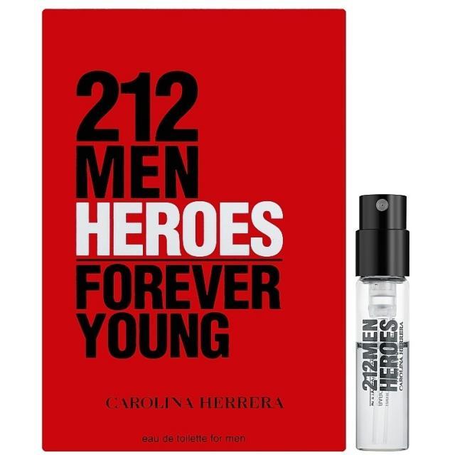 Carolina Herrera 212 Men Heroes Forever Young, Illatminta EDT