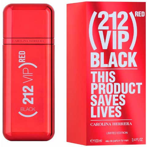 Carolina Herrera 212 VIP Black Red, edp 100ml