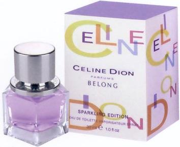 Celine Dion Belong - sparkling edition, Toaletná voda 30ml