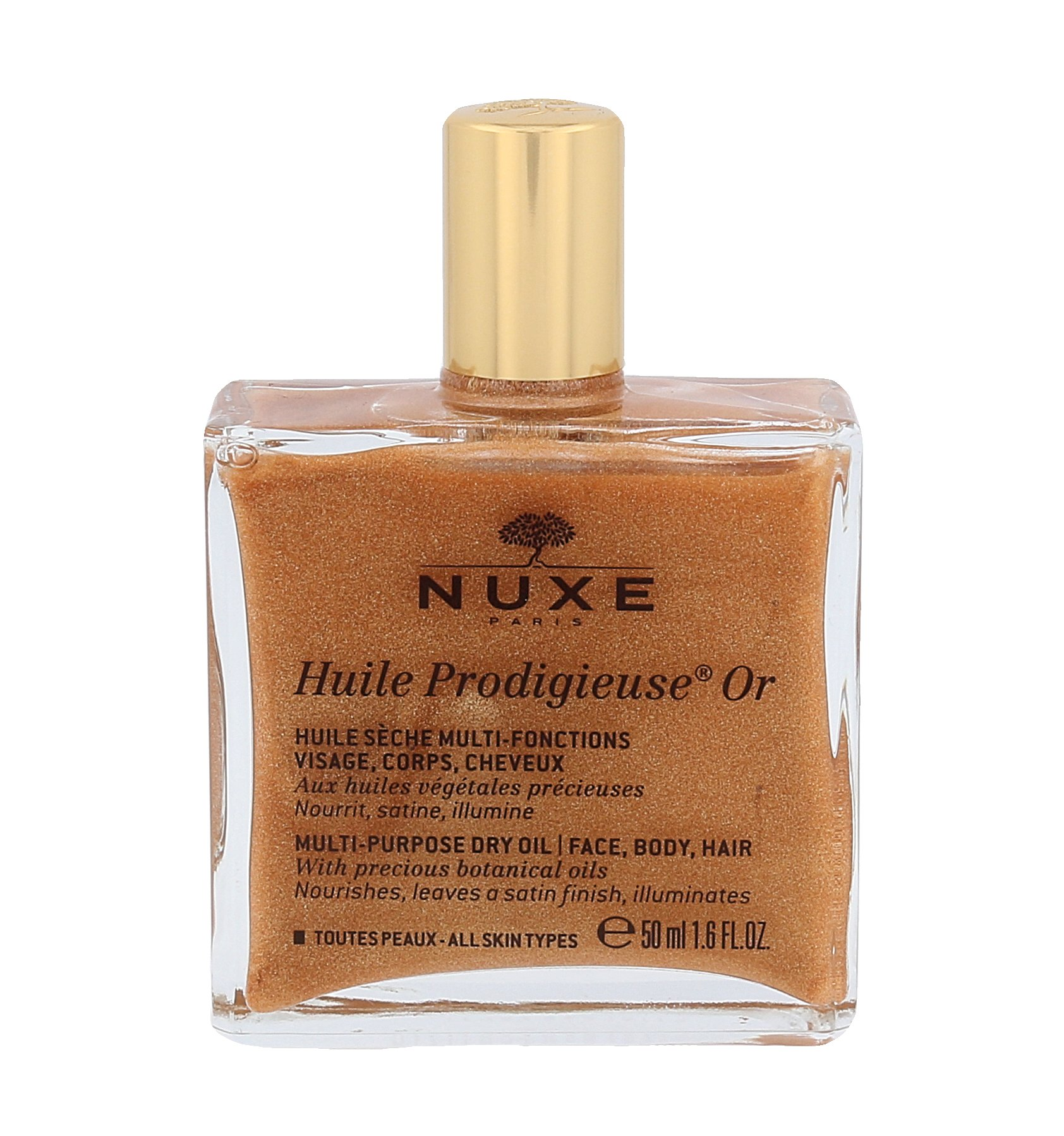 NUXE Huile Prodigieuse Or Multi Purpose Dry Oil Face, Body, Hair (W)
