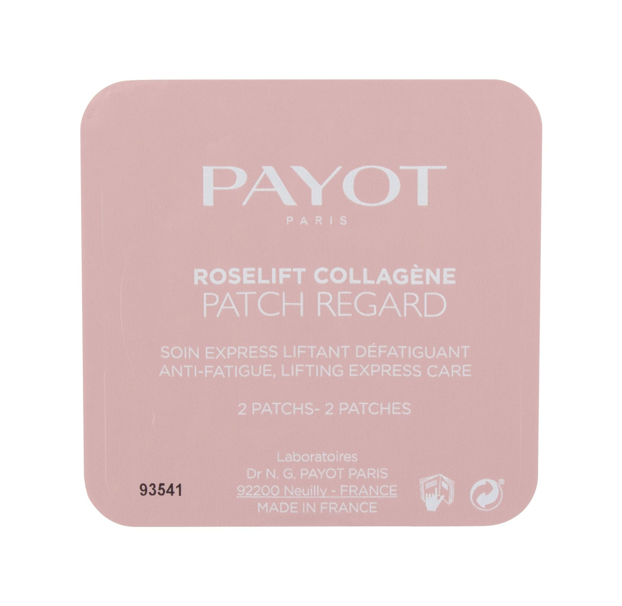 PAYOT Roselift Collagéne Patch Regard, Očný gél 20ks
