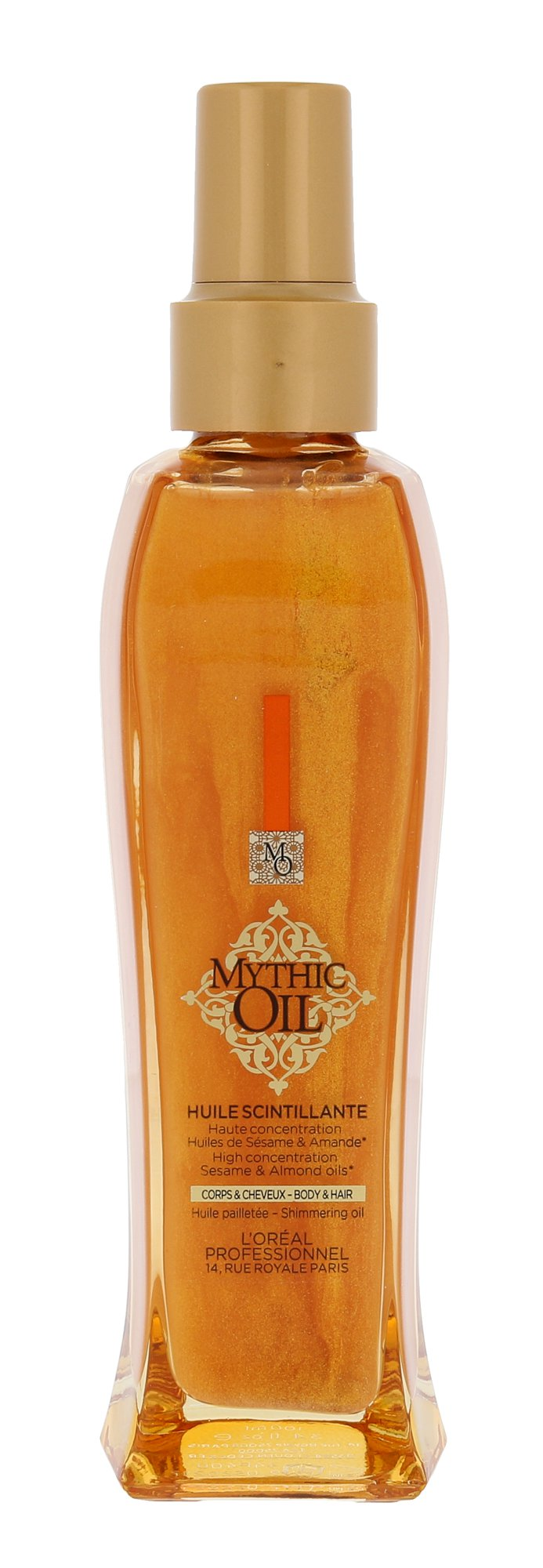 L´Oréal Professionnel Mythic Oil Shimmering Oil, Telový olej 100ml - For Body And Hair