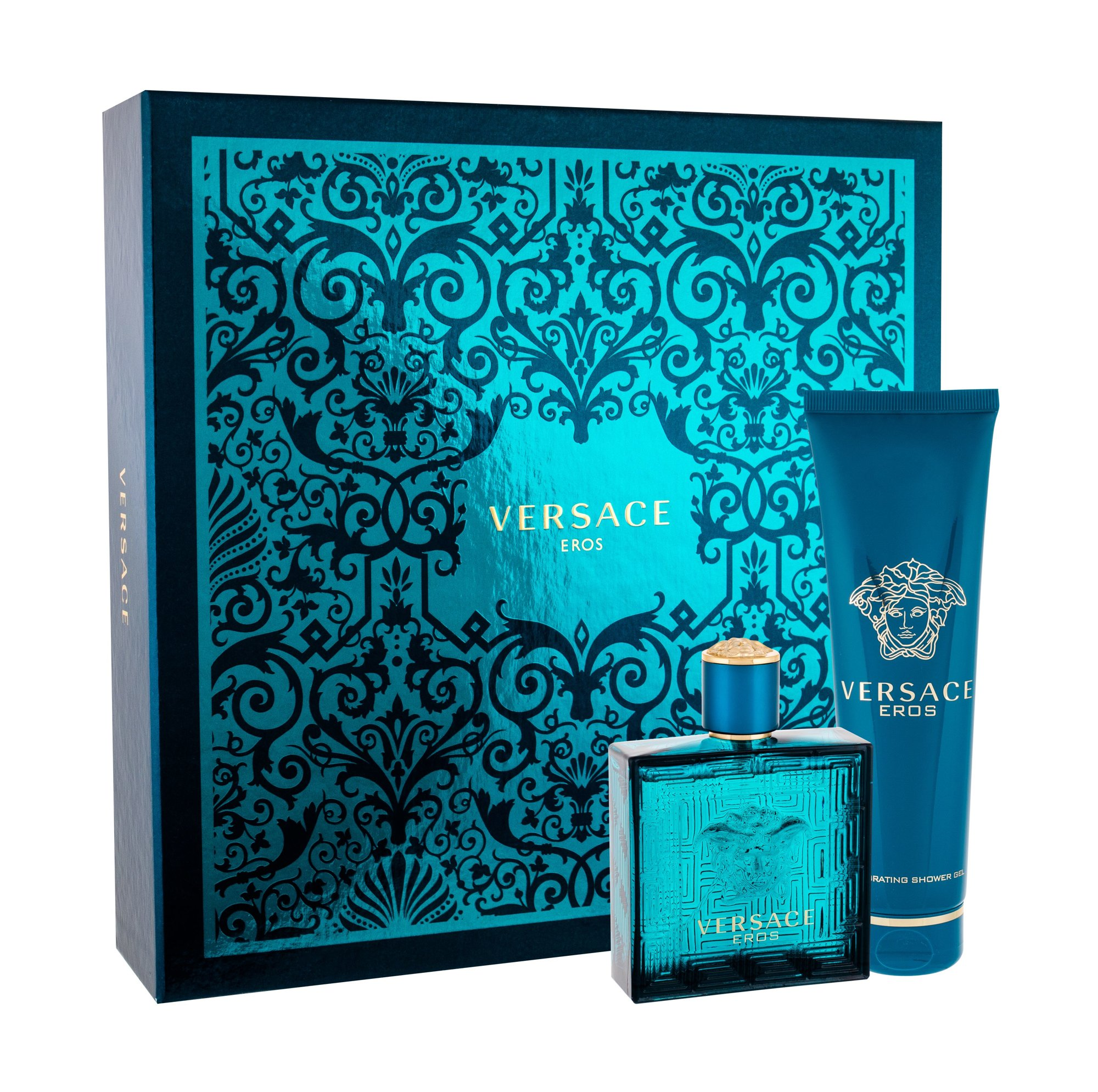 Versace Eros, Toaletní voda 100 ml + sprchovací gél 150 ml