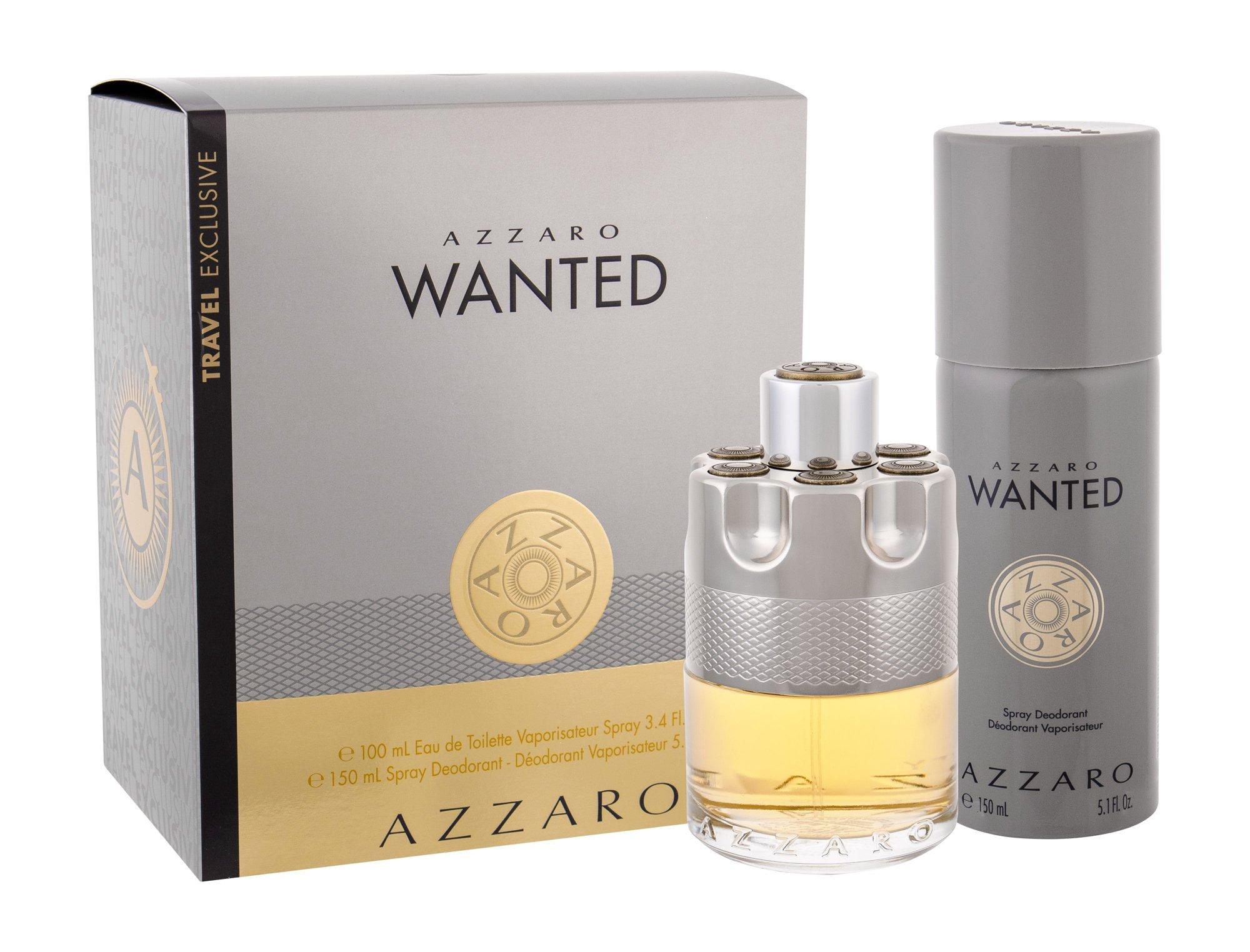 Azzaro Wanted, toaletná voda 100 ml + deodorant 150 ml