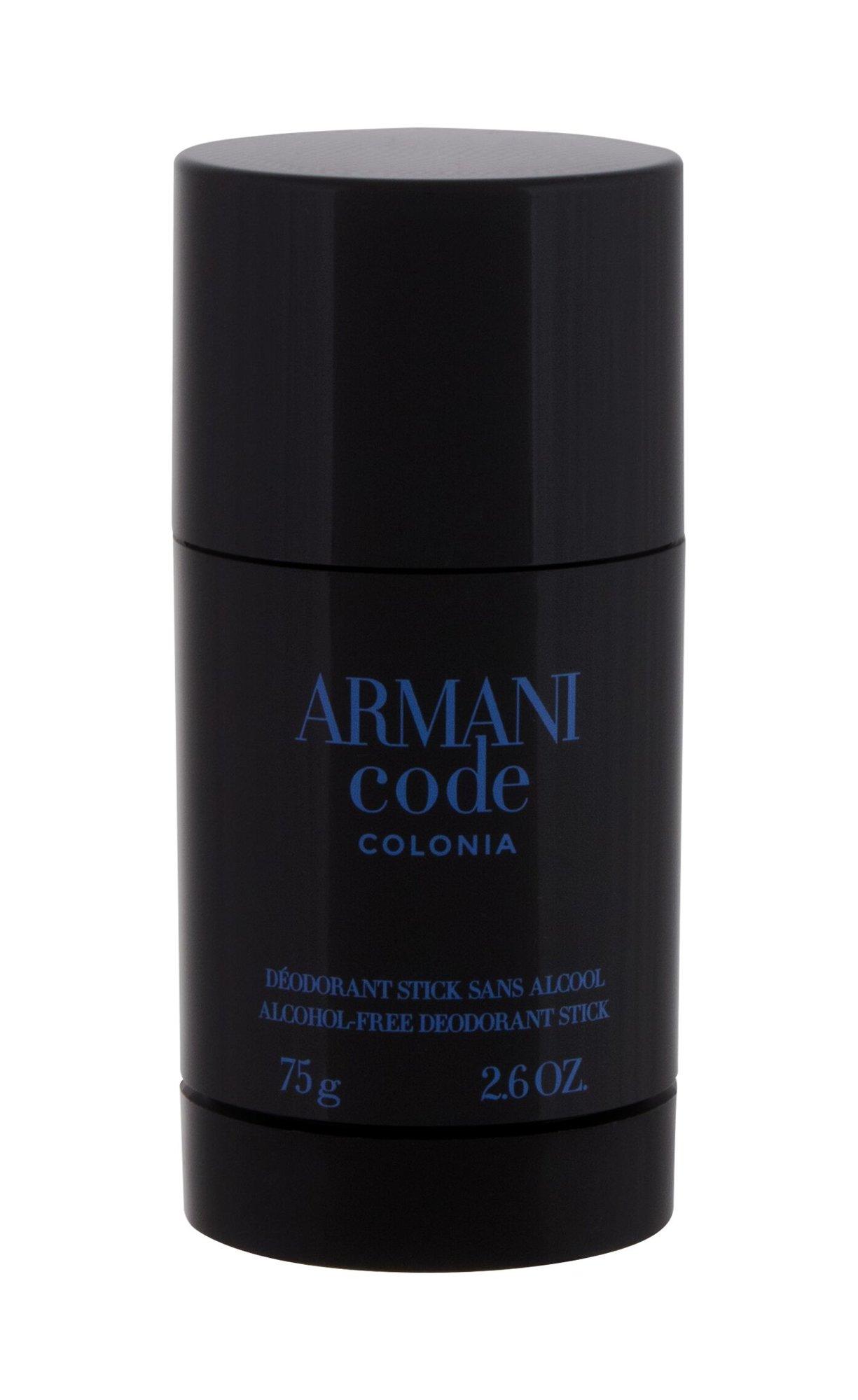 Giorgio Armani Code Colonia, Deostick 75g