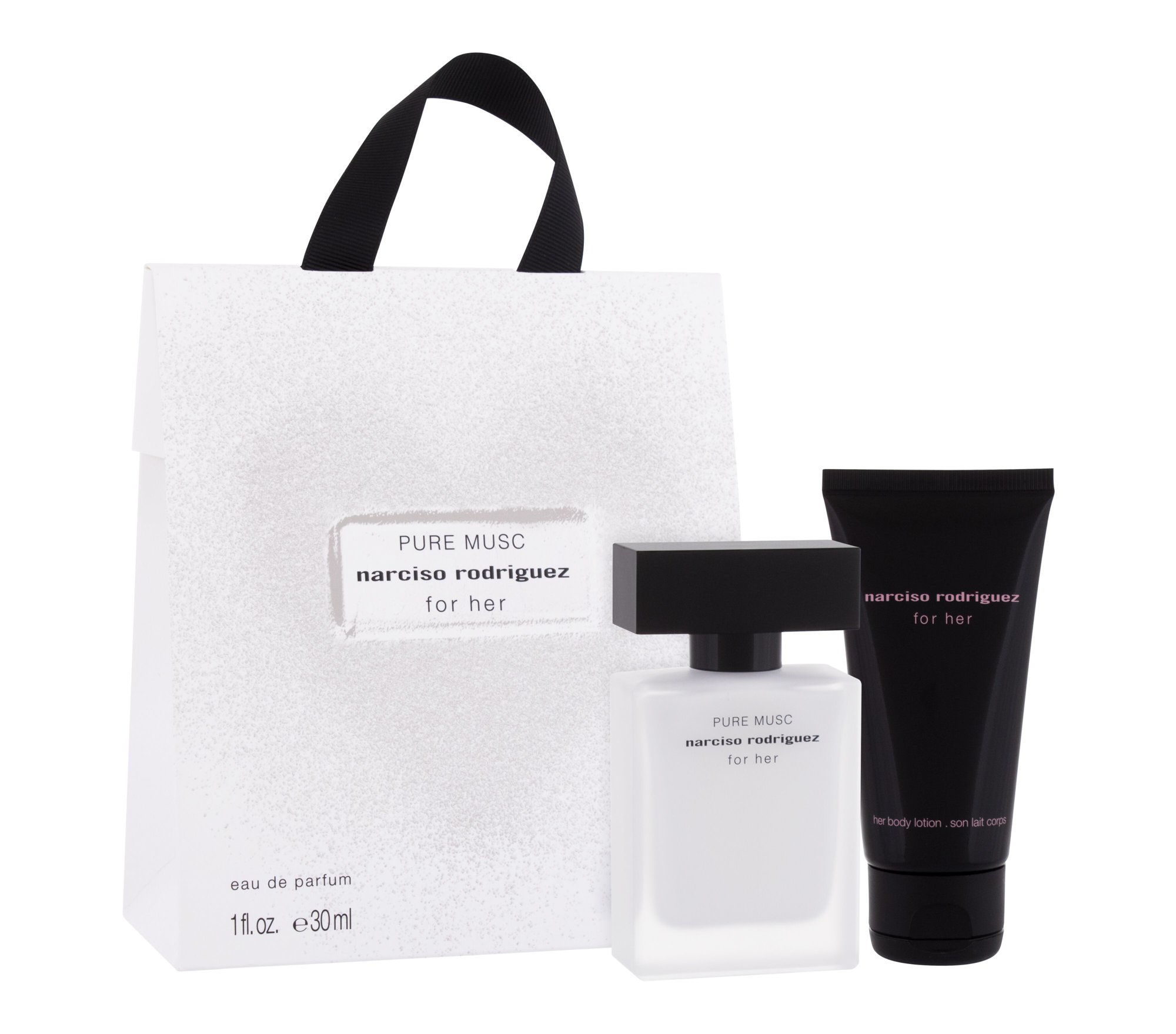 Narciso Rodriguez For Her Pure Musc, edp 30 ml + Testápoló 75 ml