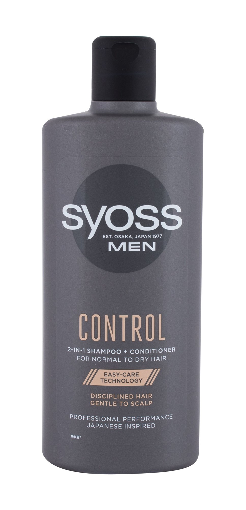 Syoss Professional Performance Men Control 2-in-1, Sampon 440ml