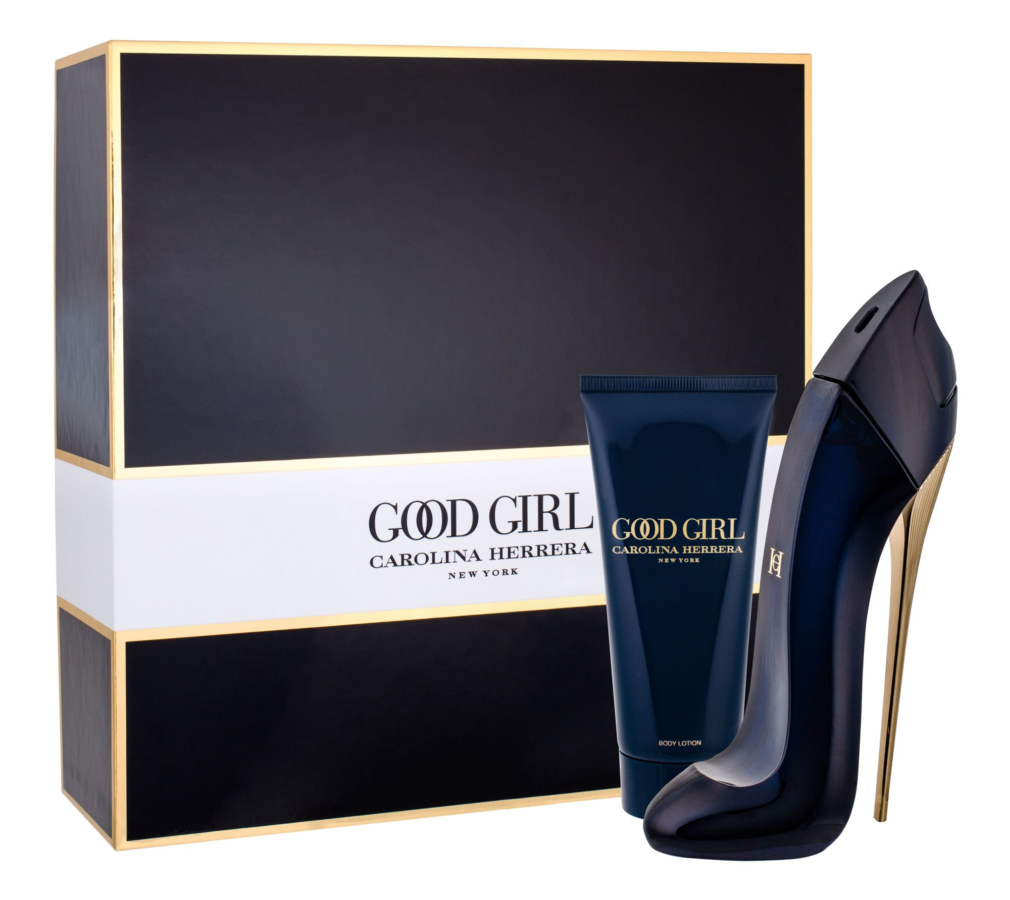 Carolina Herrera Good Girl, parfumovaná voda 80 ml + telové mlieko 100 ml