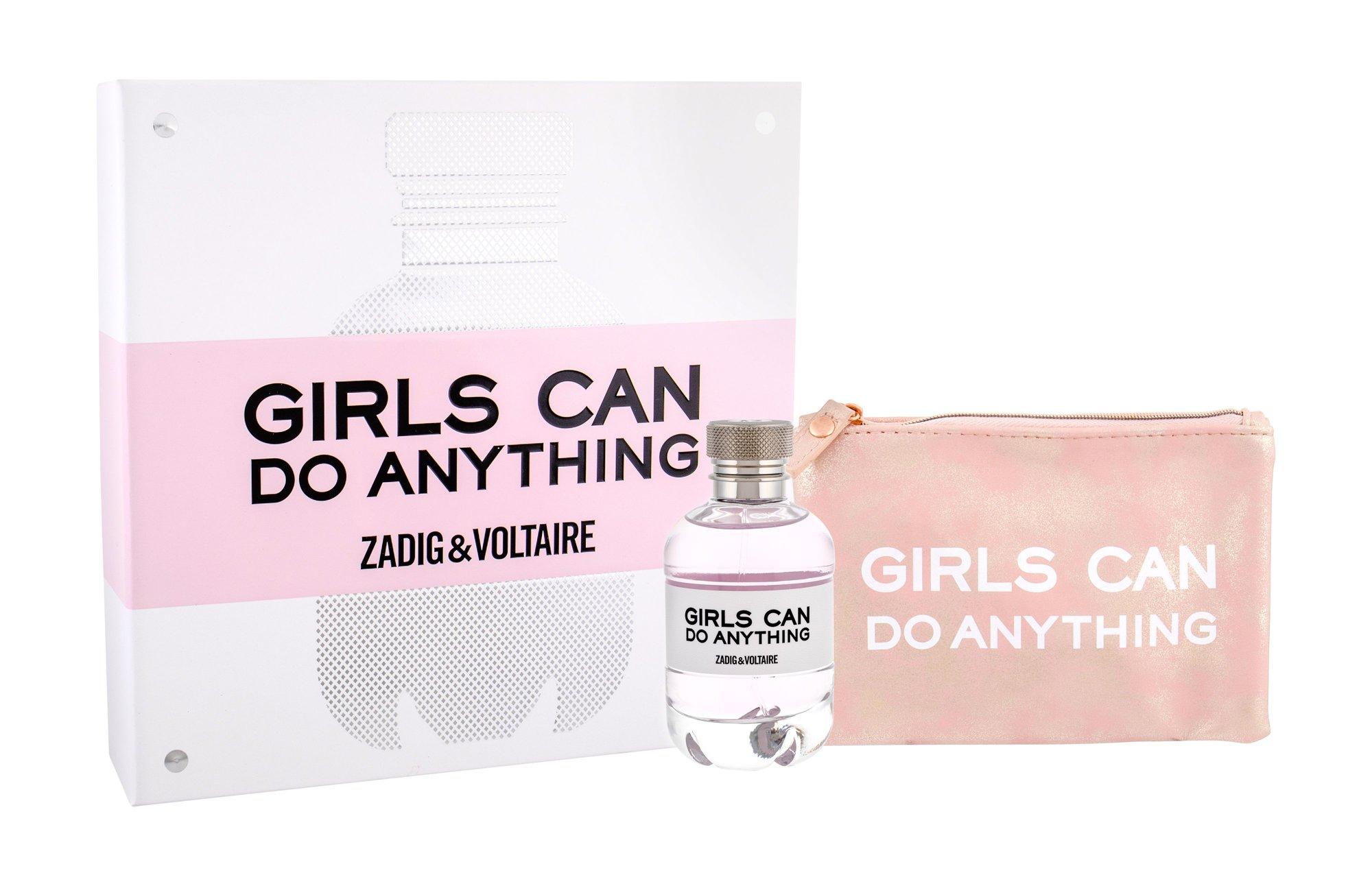 Zadig & Voltaire Girls Can Do Anything, parfumovaná voda 90 ml + kozmetická taška