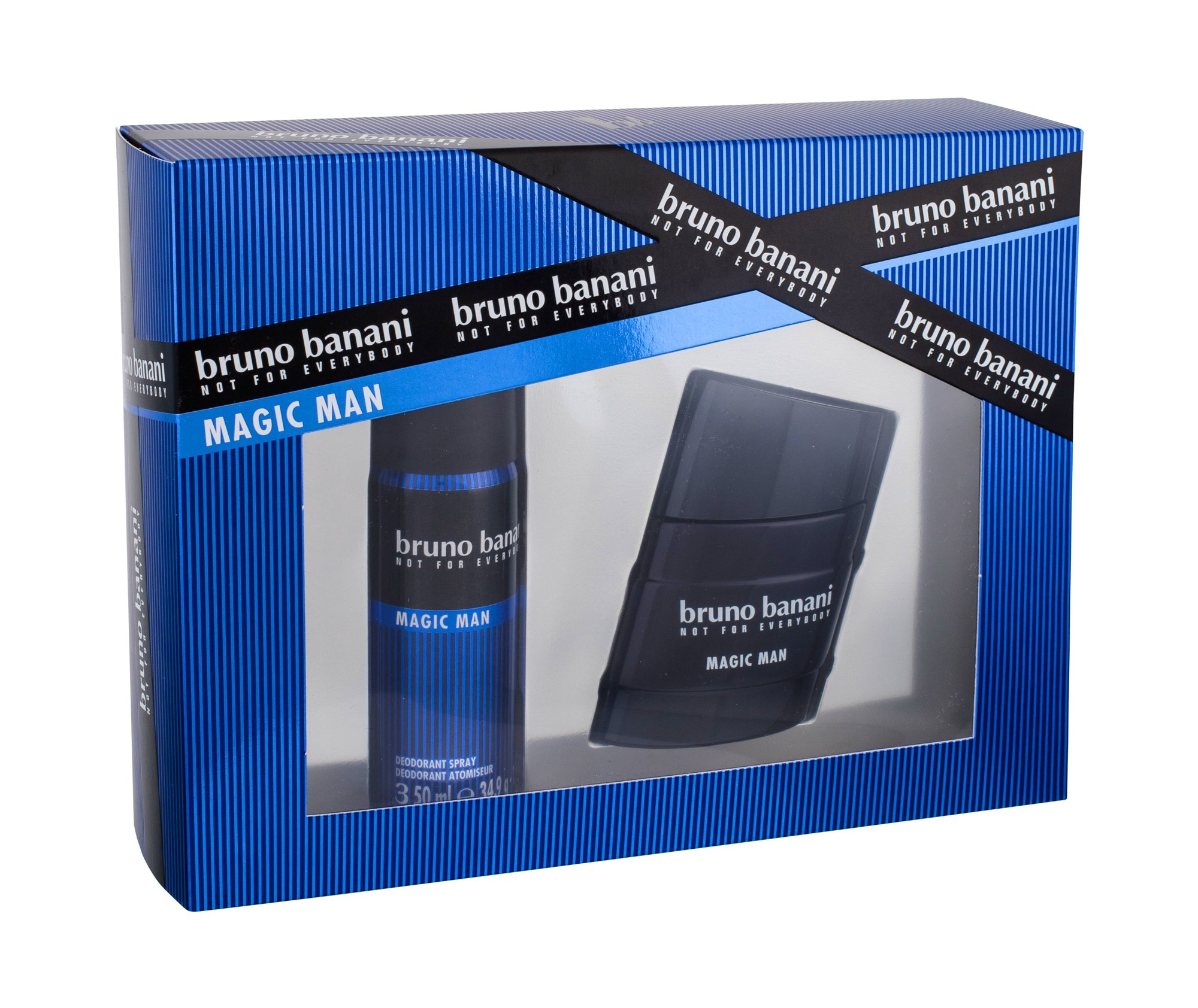 Bruno Banani Magic Man, toaletná voda 30 ml + deodorant 50 ml