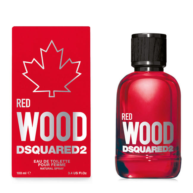 Dsquared Wood Red, edt 100ml - Teszter