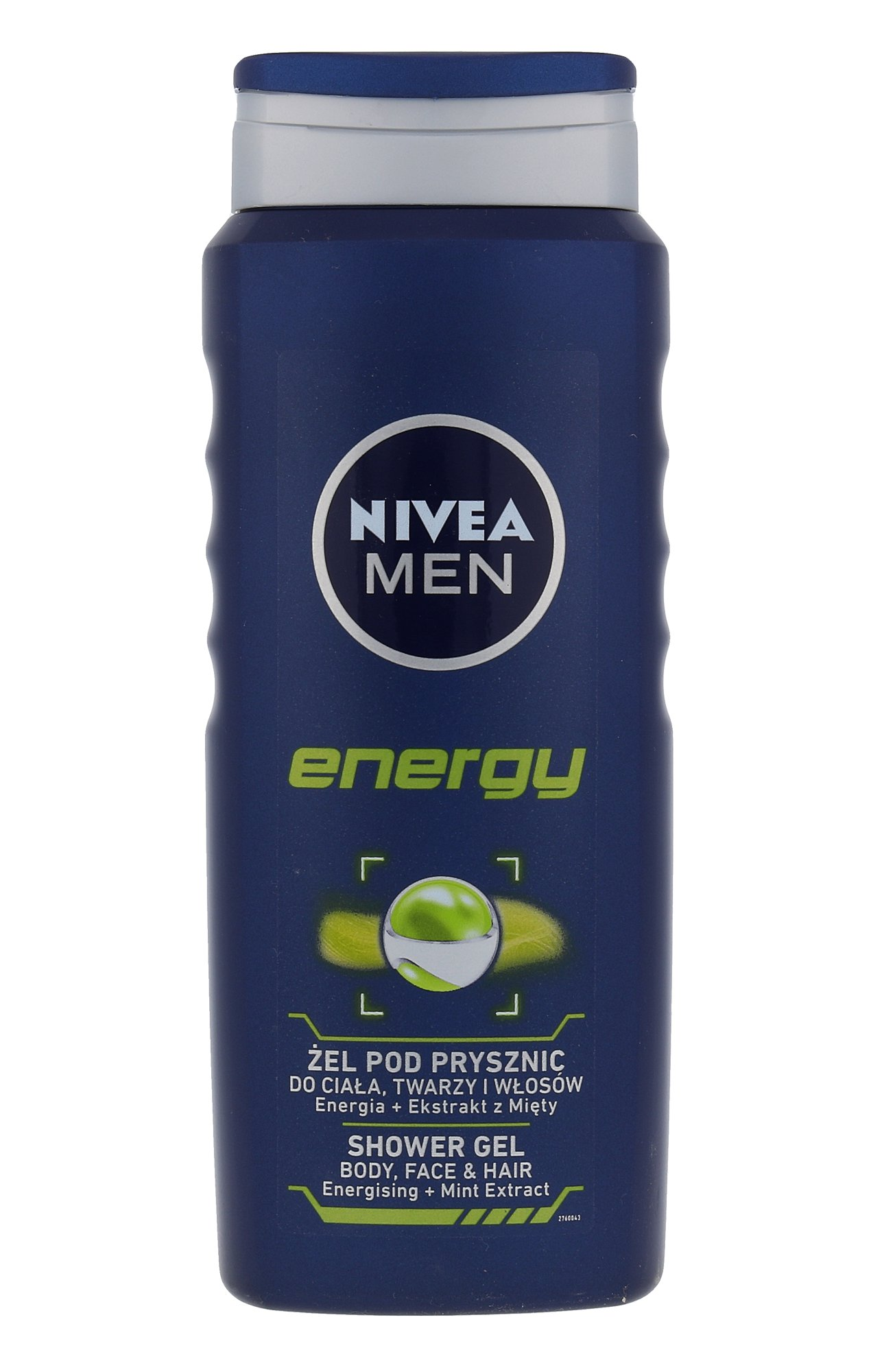 Nivea Men Energy, tusfürdő gél 500ml