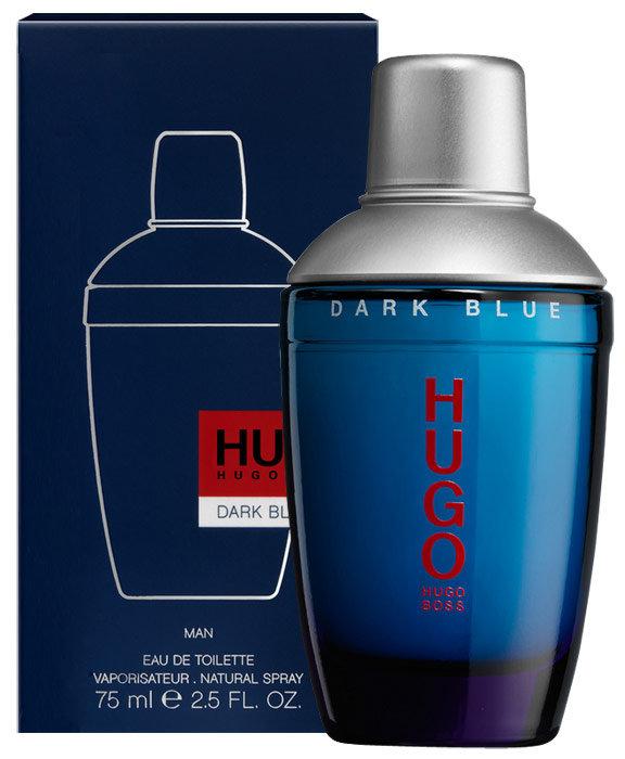 HUGO BOSS Hugo Dark Blue, Toaletní voda 125ml