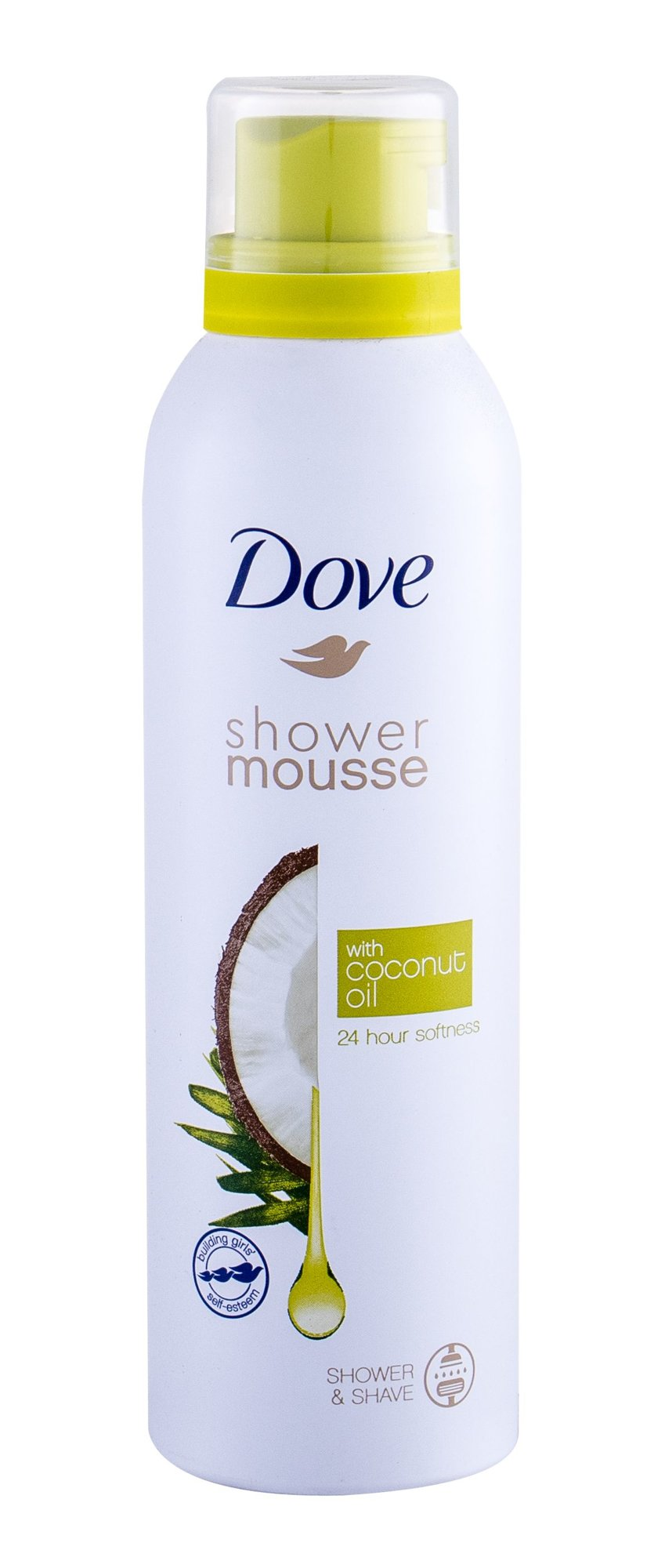 Dove Shower Mousse Coconut Oil, Sprchovacia Hab 200ml