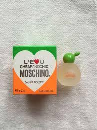 Moschino L´Eau Cheap And Chic, Toaletná voda 4,9ml