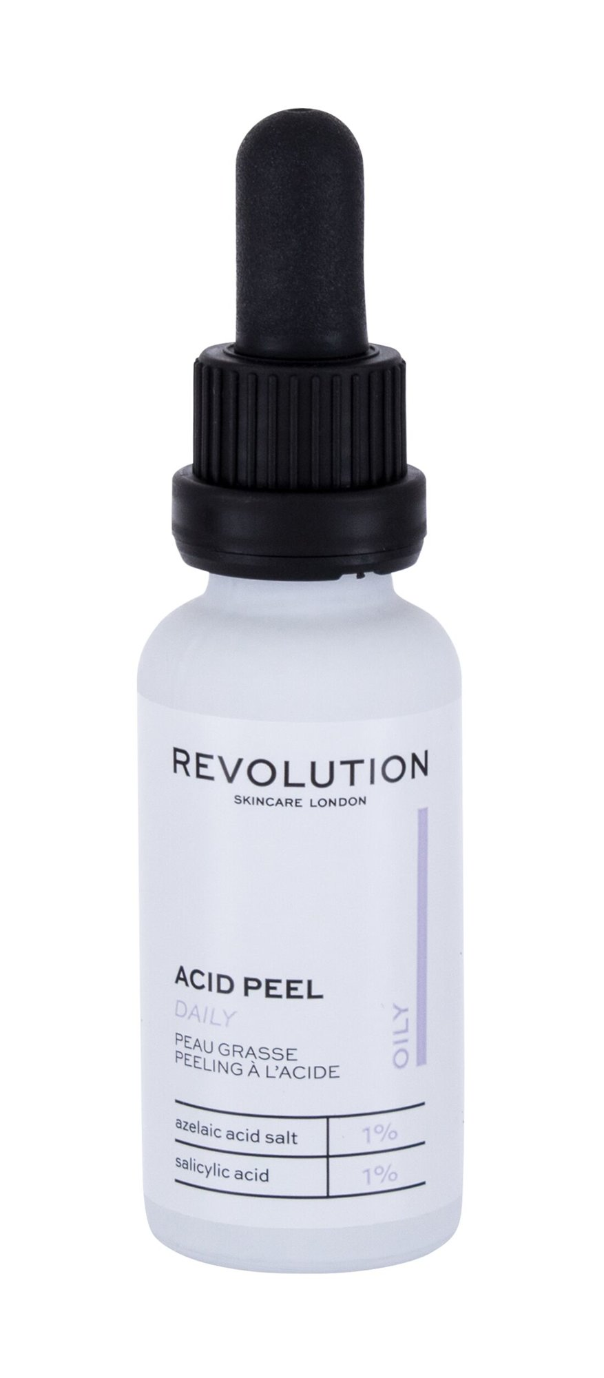 Revolution Skincare Acid Peel Oily, Radír 30ml - Daily
