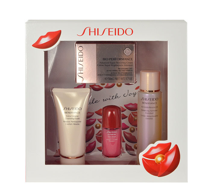 Shiseido Bio-Performance Advanced Super Restoring, BIO-PERFORMANCE Restoring 50 ml +  BENEFIANCE Cleansing Foam 50 ml +  BENEFIANCE Softener Enriched 75 ml + ULTIMUNE Power Inf.Concentrate 10 ml