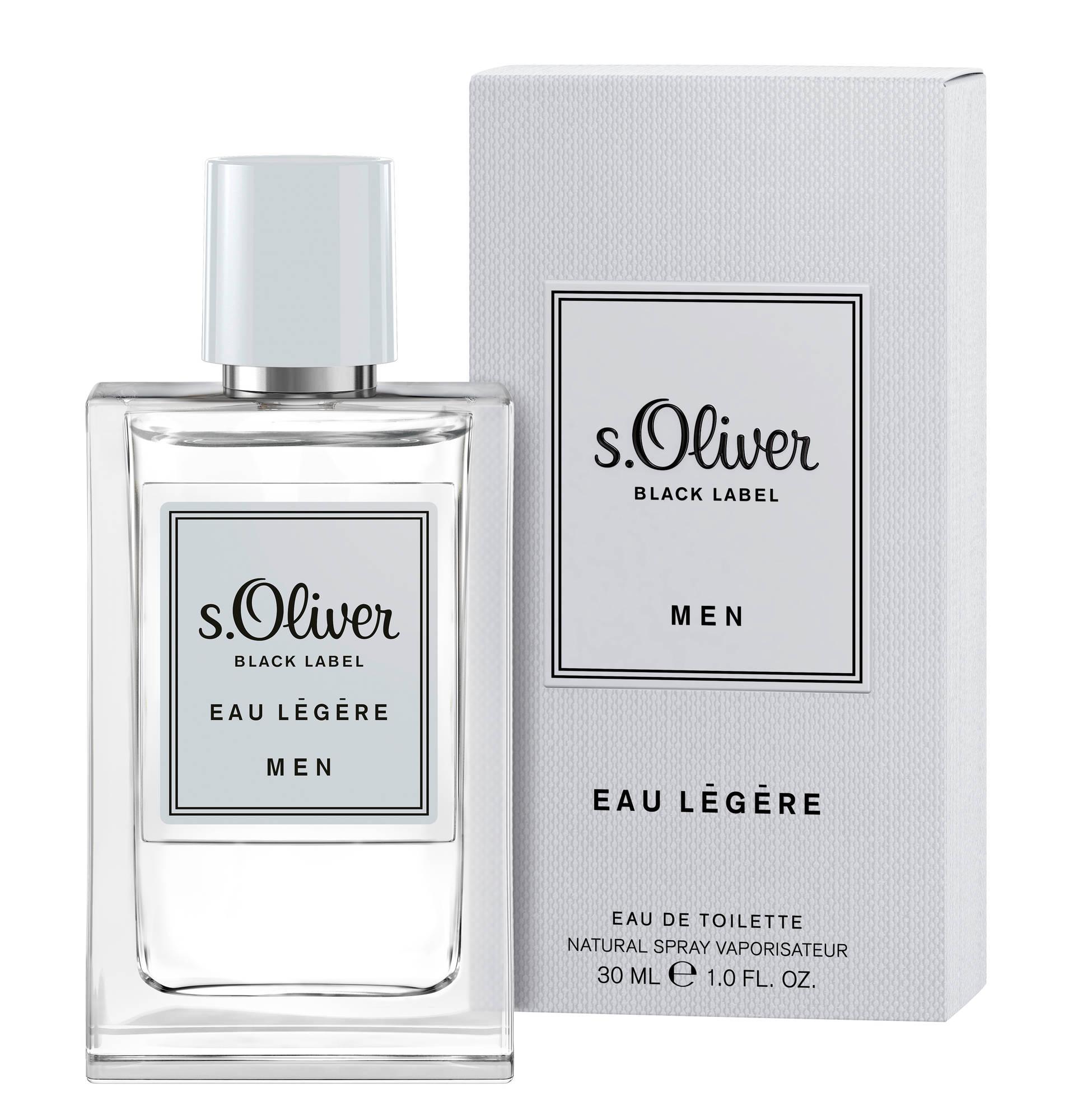 S.Oliver Black Label for Men eau Légere, edt 30ml