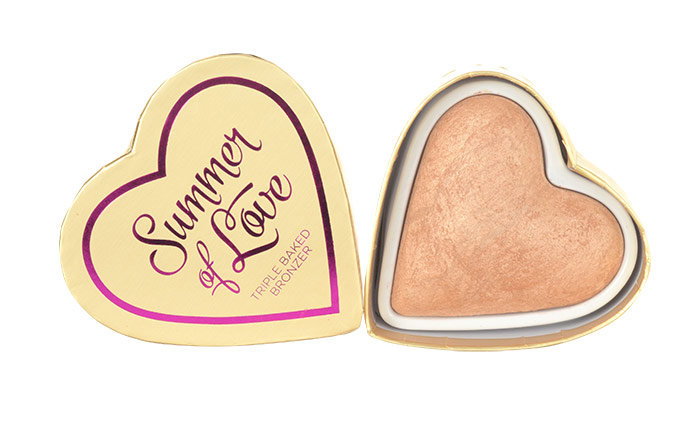 Makeup Revolution London I Heart Makeup Summer Of Love, Bronzosító 10g