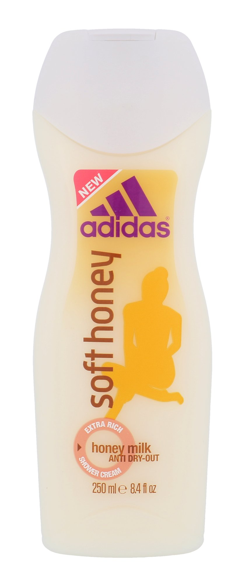 Adidas Soft Honey, Sprchovací gél 250ml