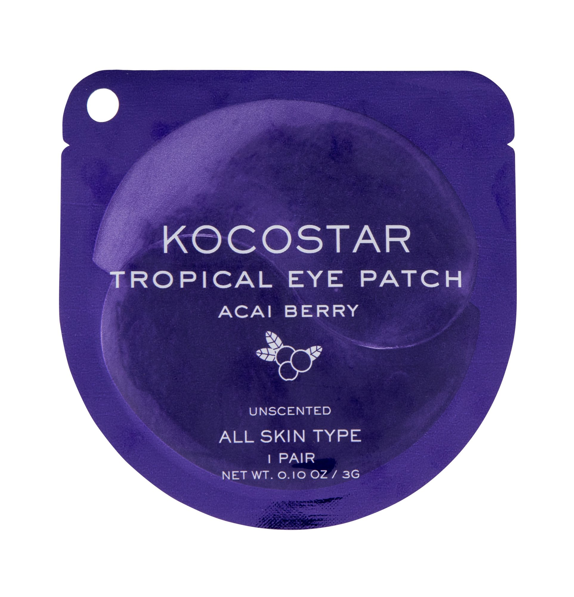 Kocostar Eye Mask Tropical Eye Patch, Pleťová Maszk 3g