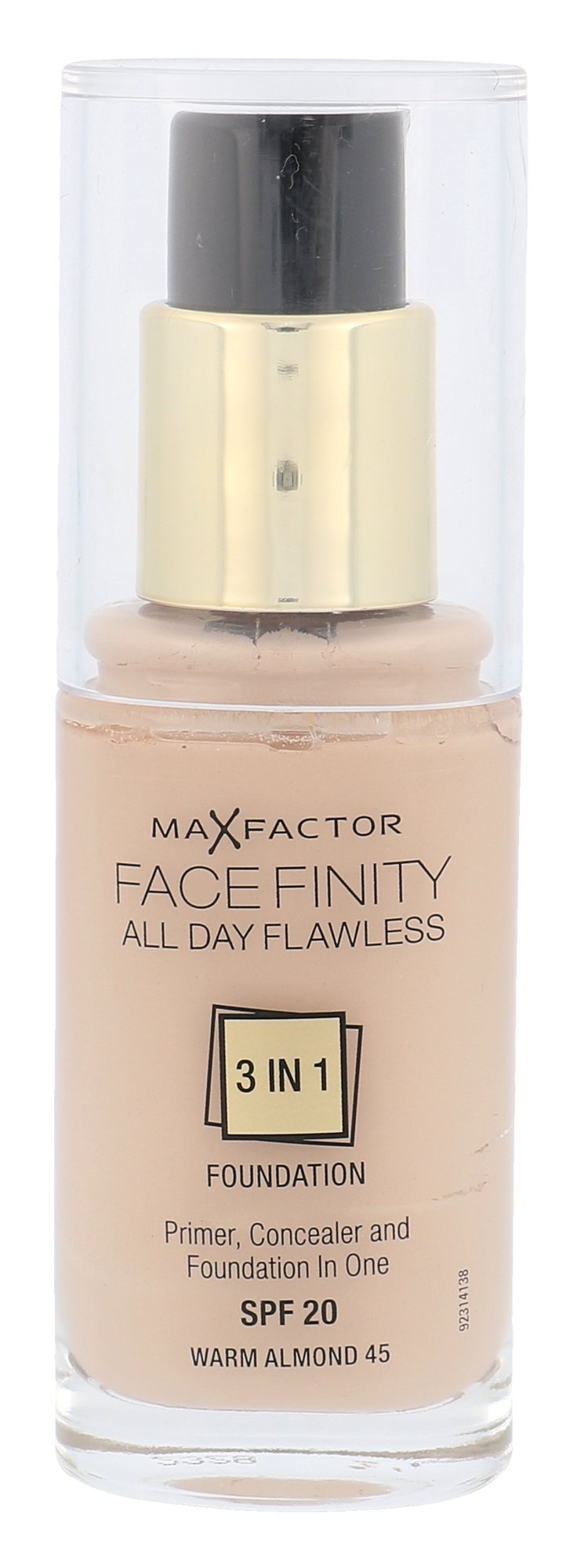 Max Factor Facefinity All Day Flawless 3in1 SPF20, Makeup 30ml