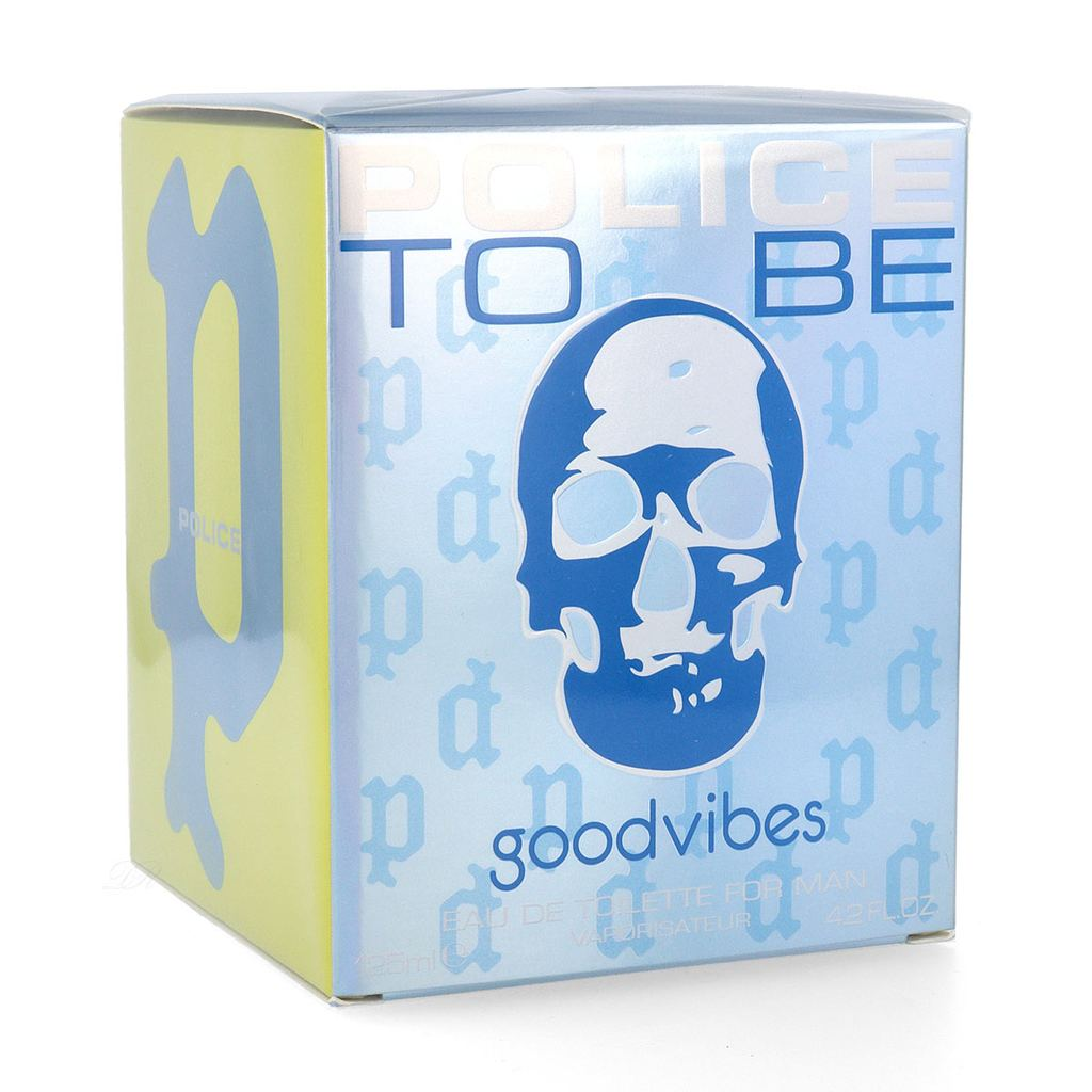 Police To Be Goodvibes, edt 125ml