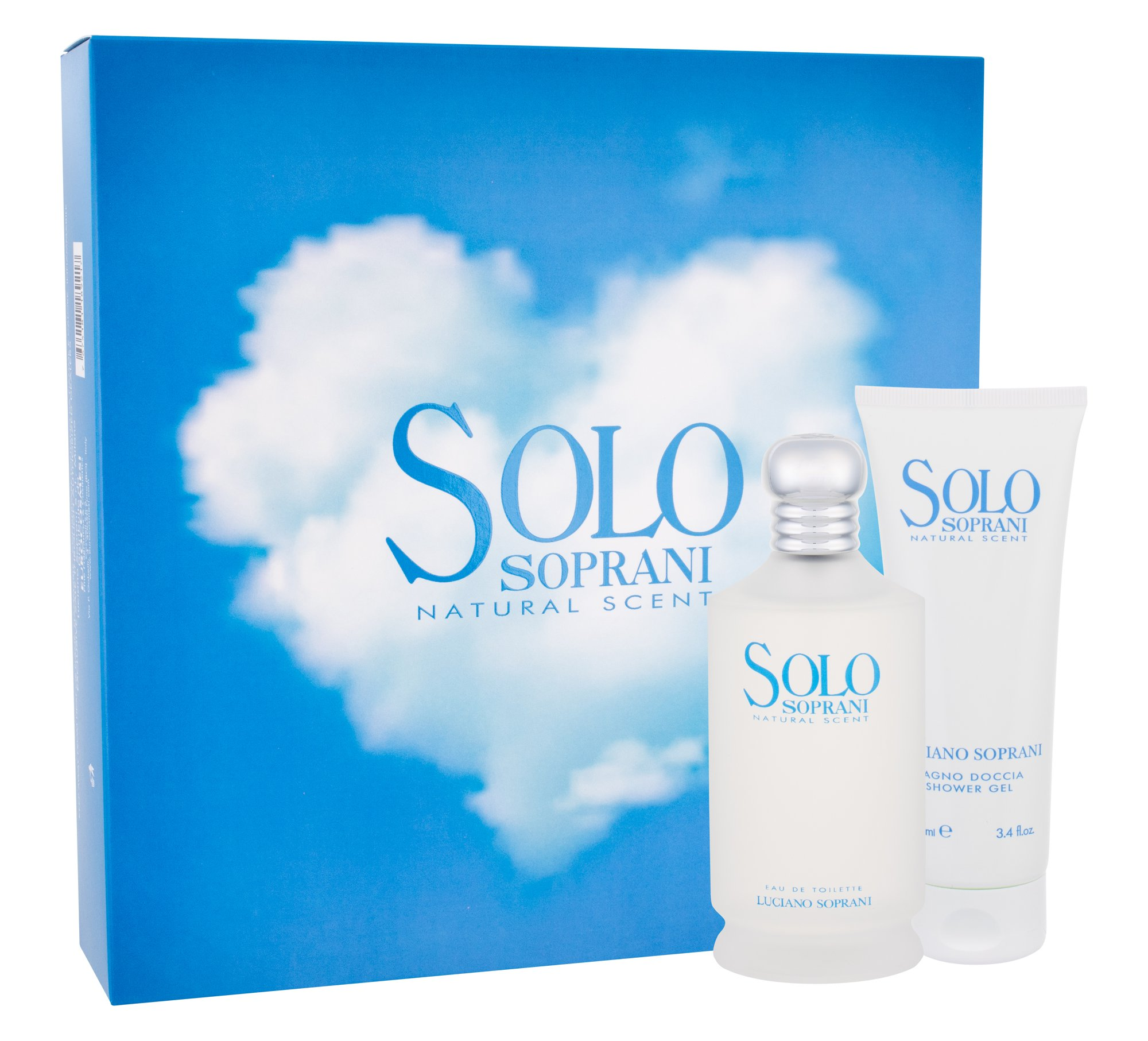 Luciano Soprani Solo, Edt 100 ml + Shower Gel 100 ml