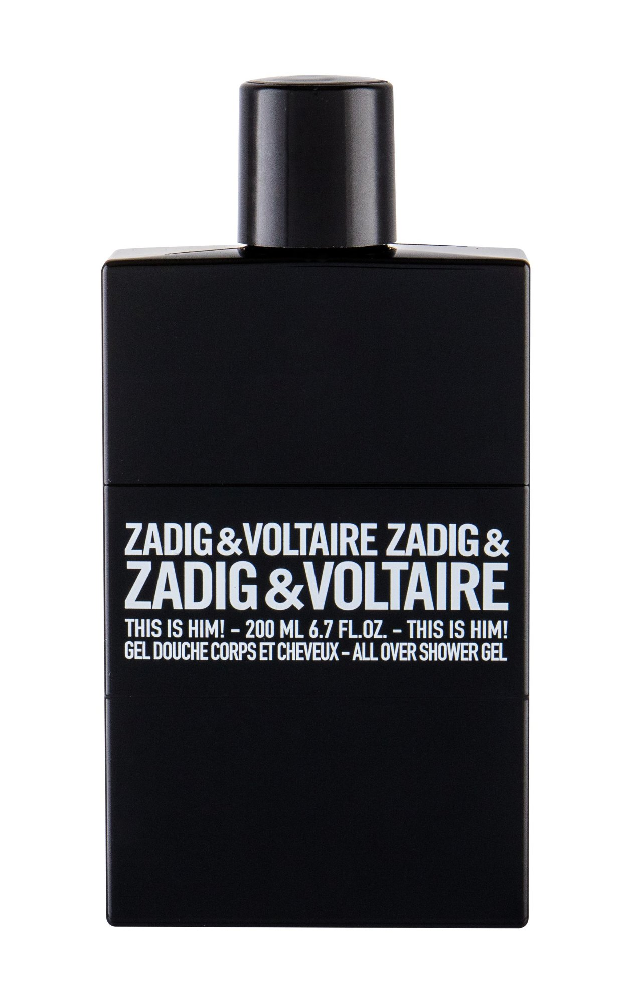 Zadig & Voltaire This is Him!, Sprchovací gél 200ml