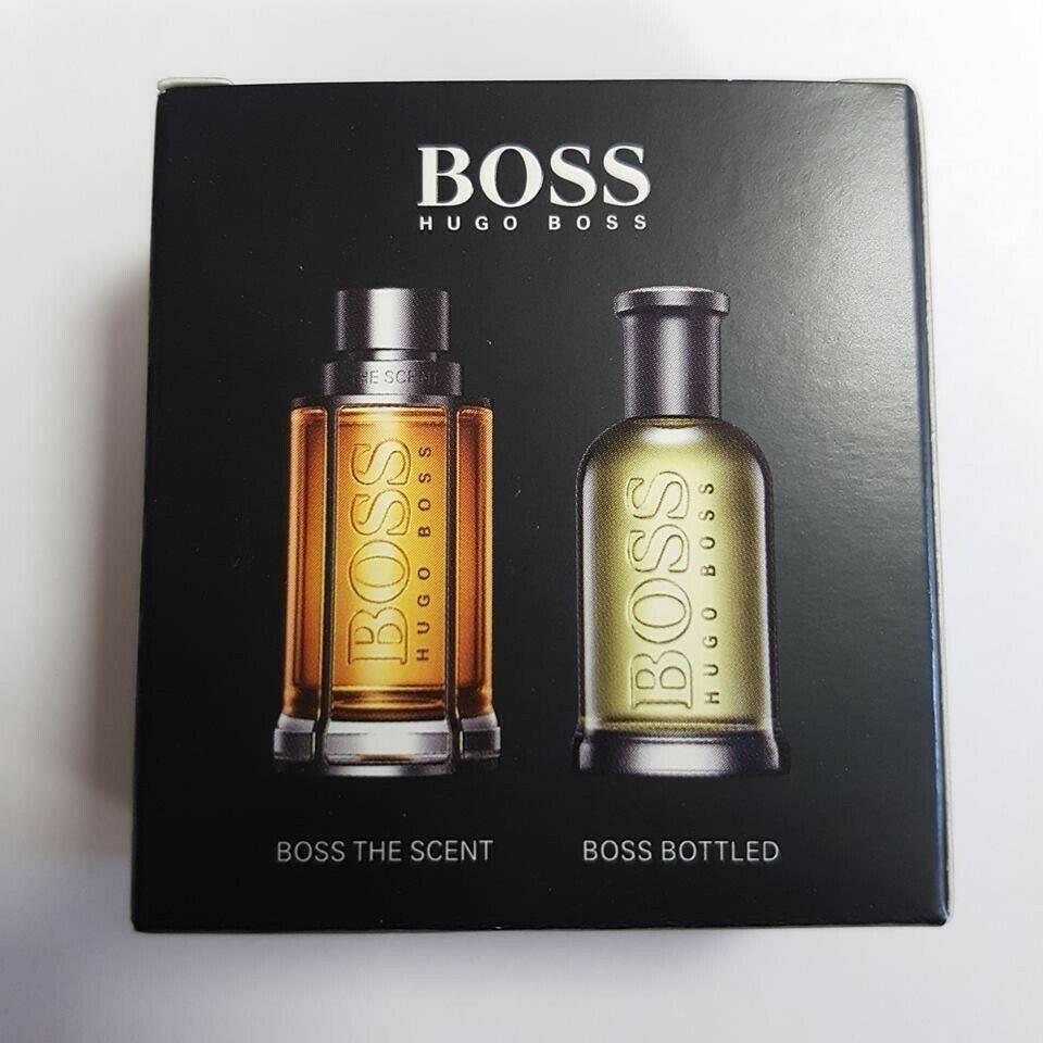 Hugo Boss No.6  edt 5ml + Hugo Boss The Scent edt 5ml