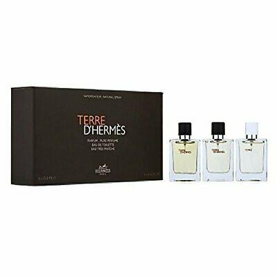 Hermes Terre D´Hermes Mini SET: Parfum 12.5ml + Eau de Toilette 12.5ml + Eau Tres Fraiche Eau de Toilette 12.5ml