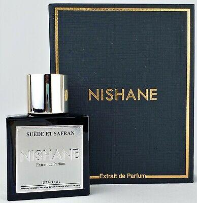 Nishane Suede et Safran, Parfumovaný extrakt 50ml