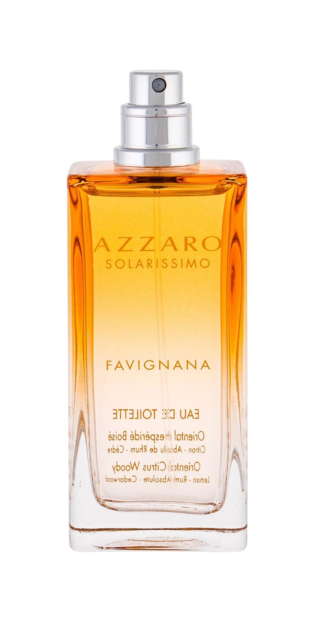 Azzaro Solarissimo Favignana, Toaletní voda 75ml, Tester