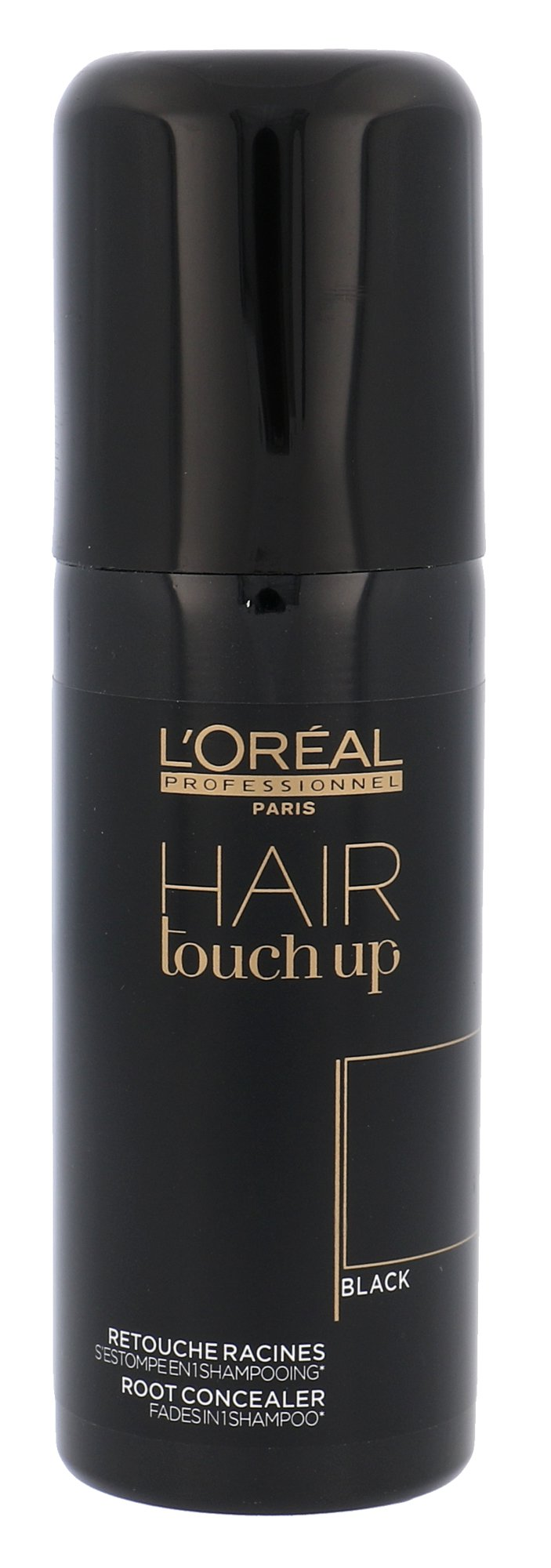 L´Oréal Professionnel Hair Touch Up Black, Farba na vlasy 75ml