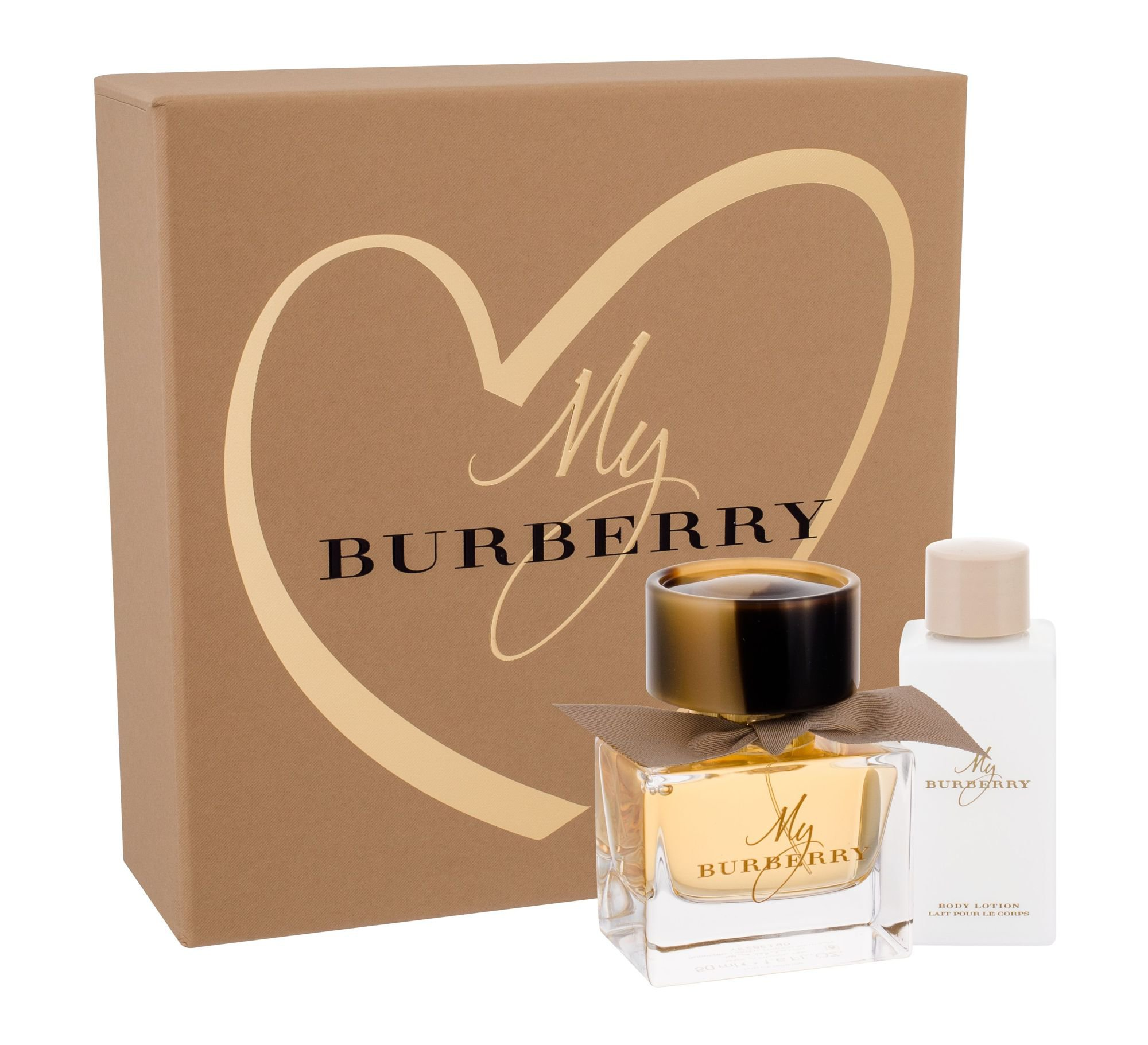 Burberry My Burberry, parfumovaná voda 50 ml + telové mlieko 75 ml