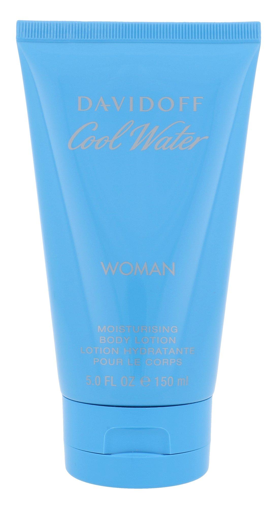 Davidoff Cool Water, Tělové mléko 150ml, Woman