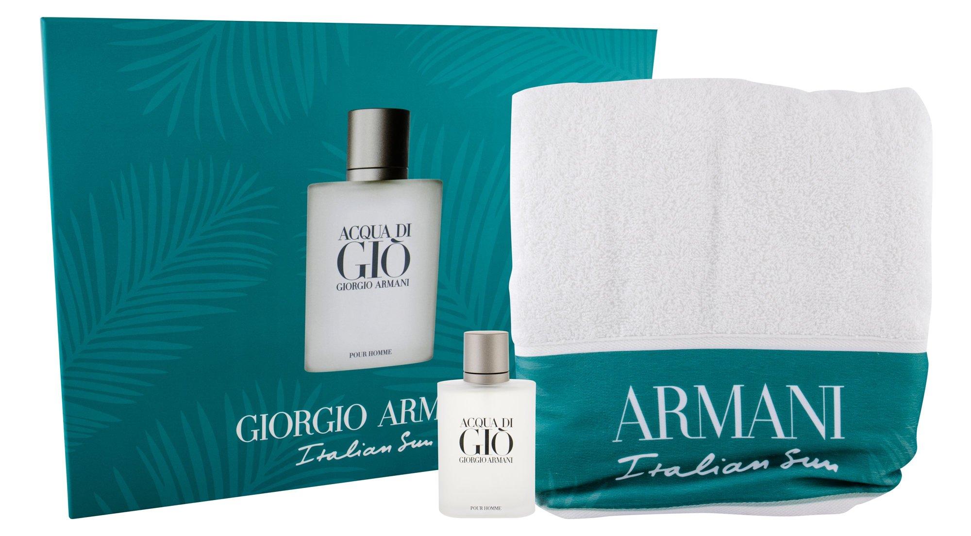 Giorgio Armani Acqua di Gio Pour Homme, Edt 100ml + ručník