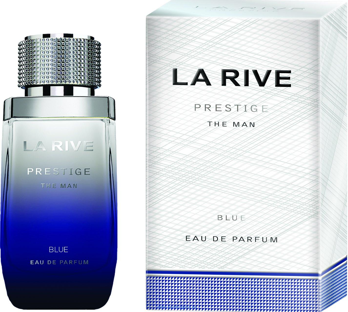 La Rive Prestige Blue The Man edp 75 ml, (Alternatív illat Giorgio Armani Black Code)