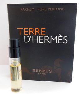 Hermes Terre D Hermes Parfum, Vzorka vône