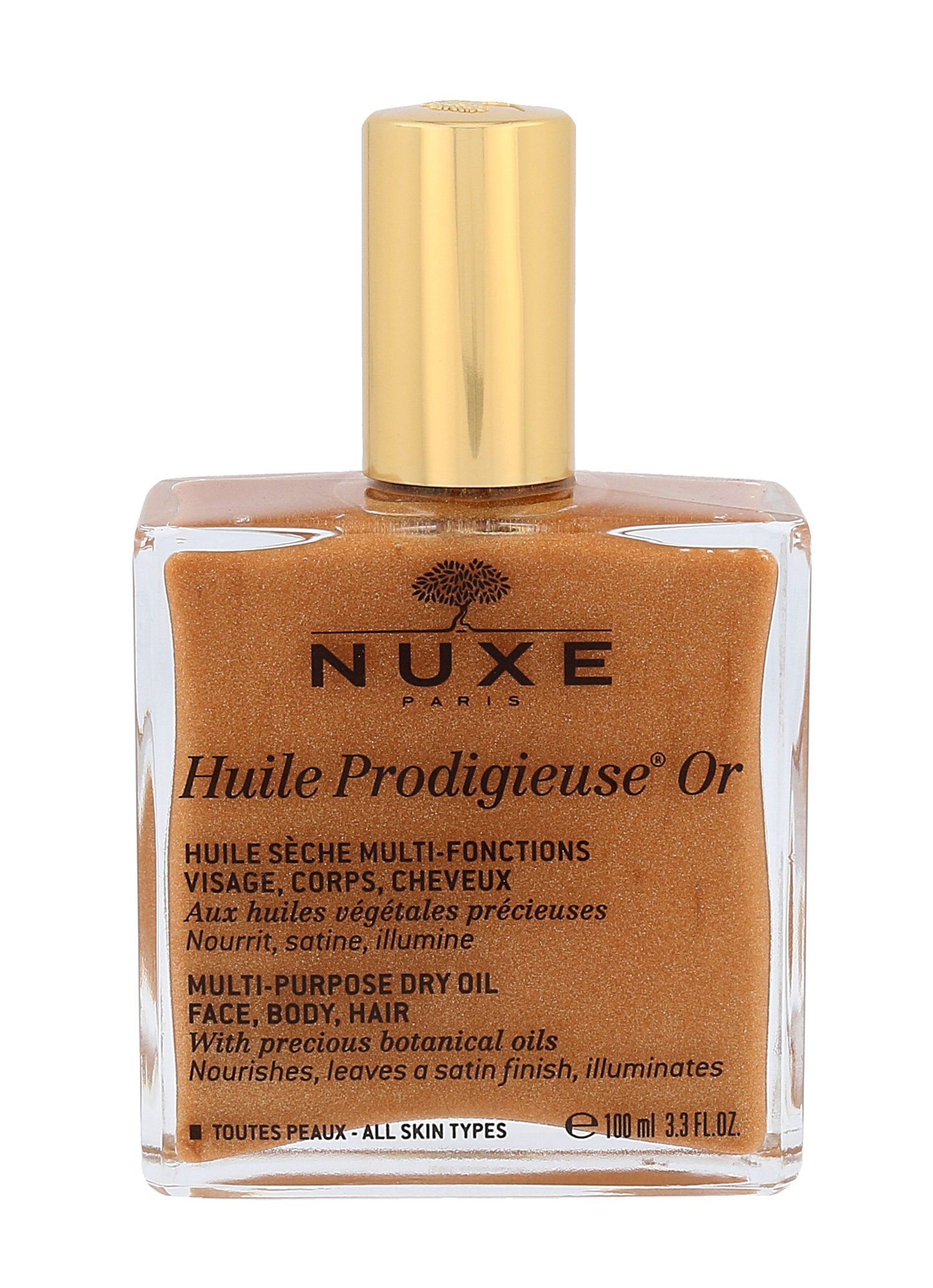 NUXE Huile Prodigieuse Or Multi Purpose Dry Oil Face, Body, Hair, Telový olej 100ml