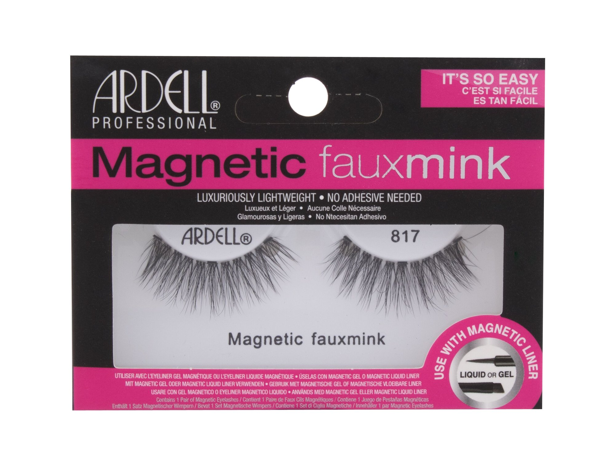 Ardell Magnetic Lashes Faux Mink 817, Umelé mihalnice 1ks